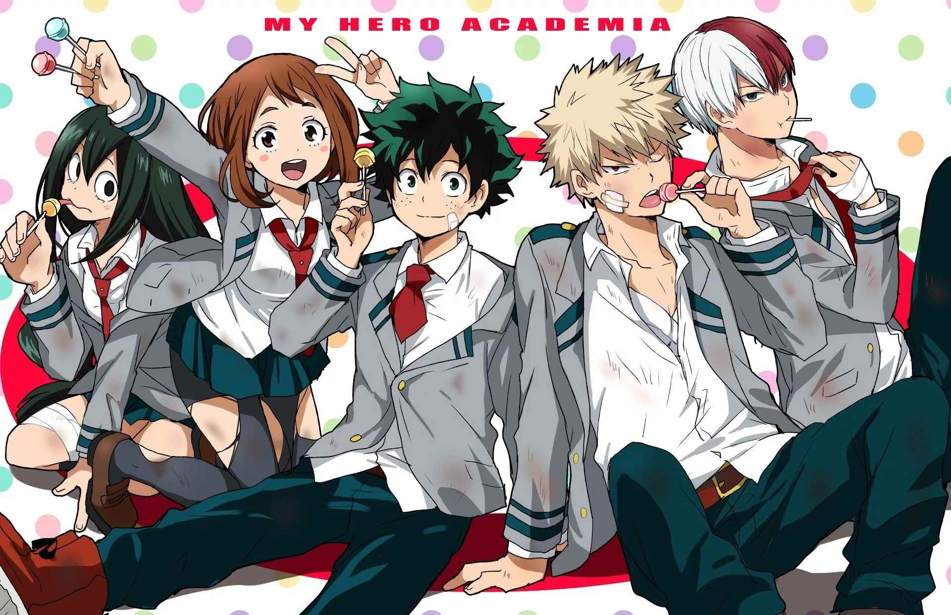 Красивая картинки из аниме Моя геройская академия (7)