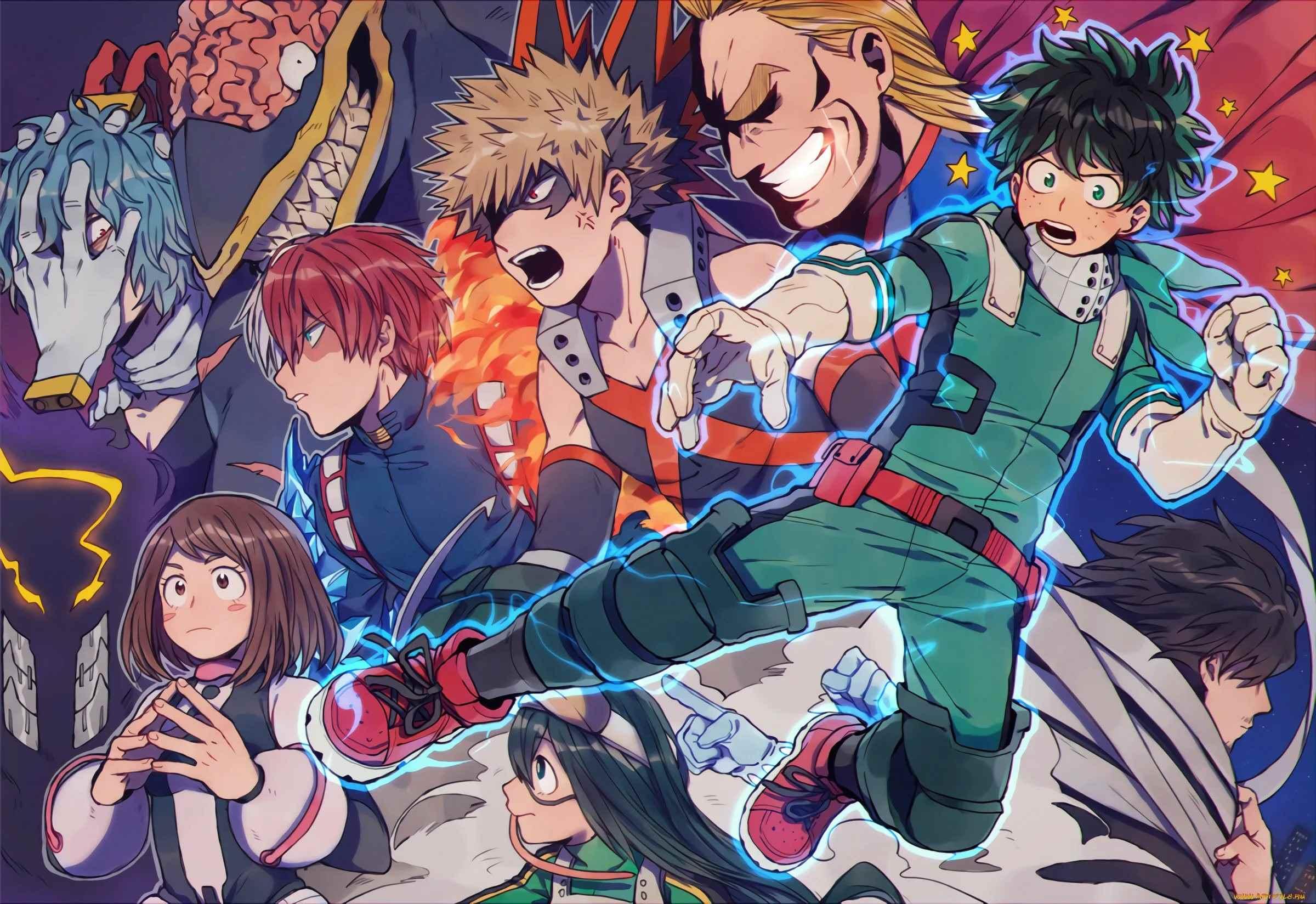 Красивая картинки из аниме Моя геройская академия (8)