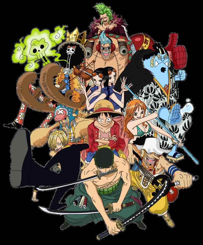 Красивая заставка Ван пис (One Piece) на телефон (1)