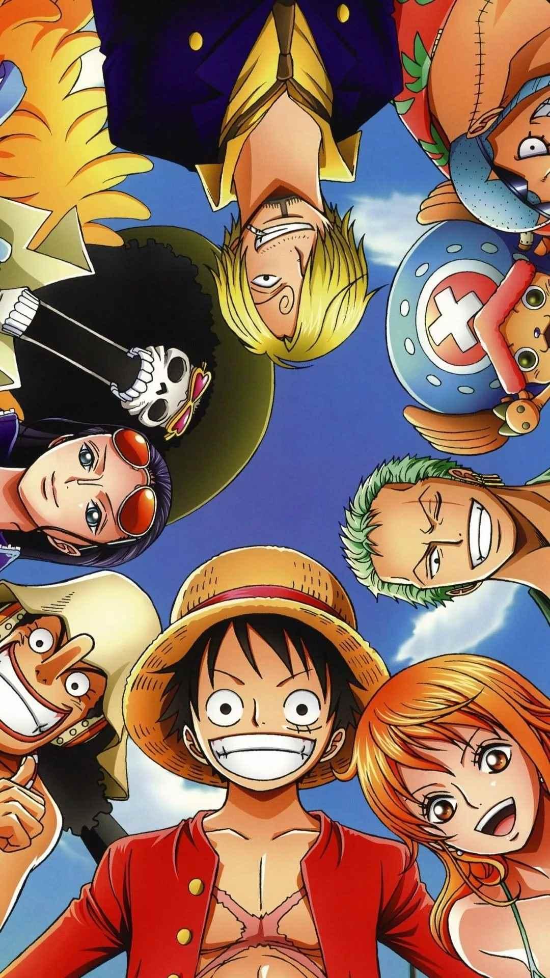 Красивая заставка Ван пис (One Piece) на телефон (10)