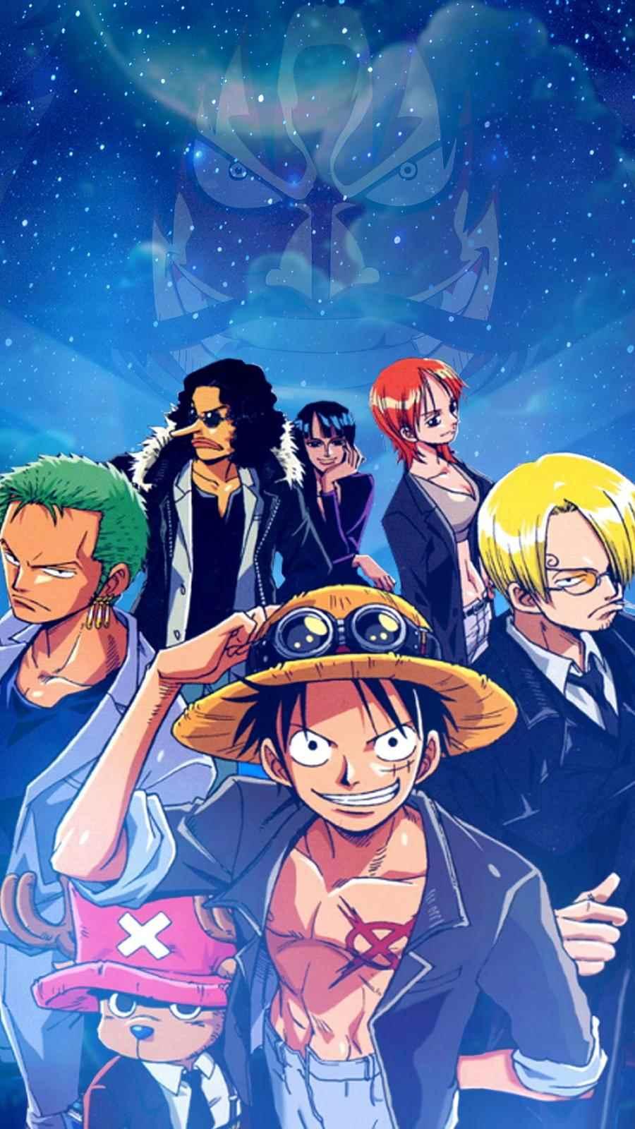 Красивая заставка Ван пис (One Piece) на телефон (11)