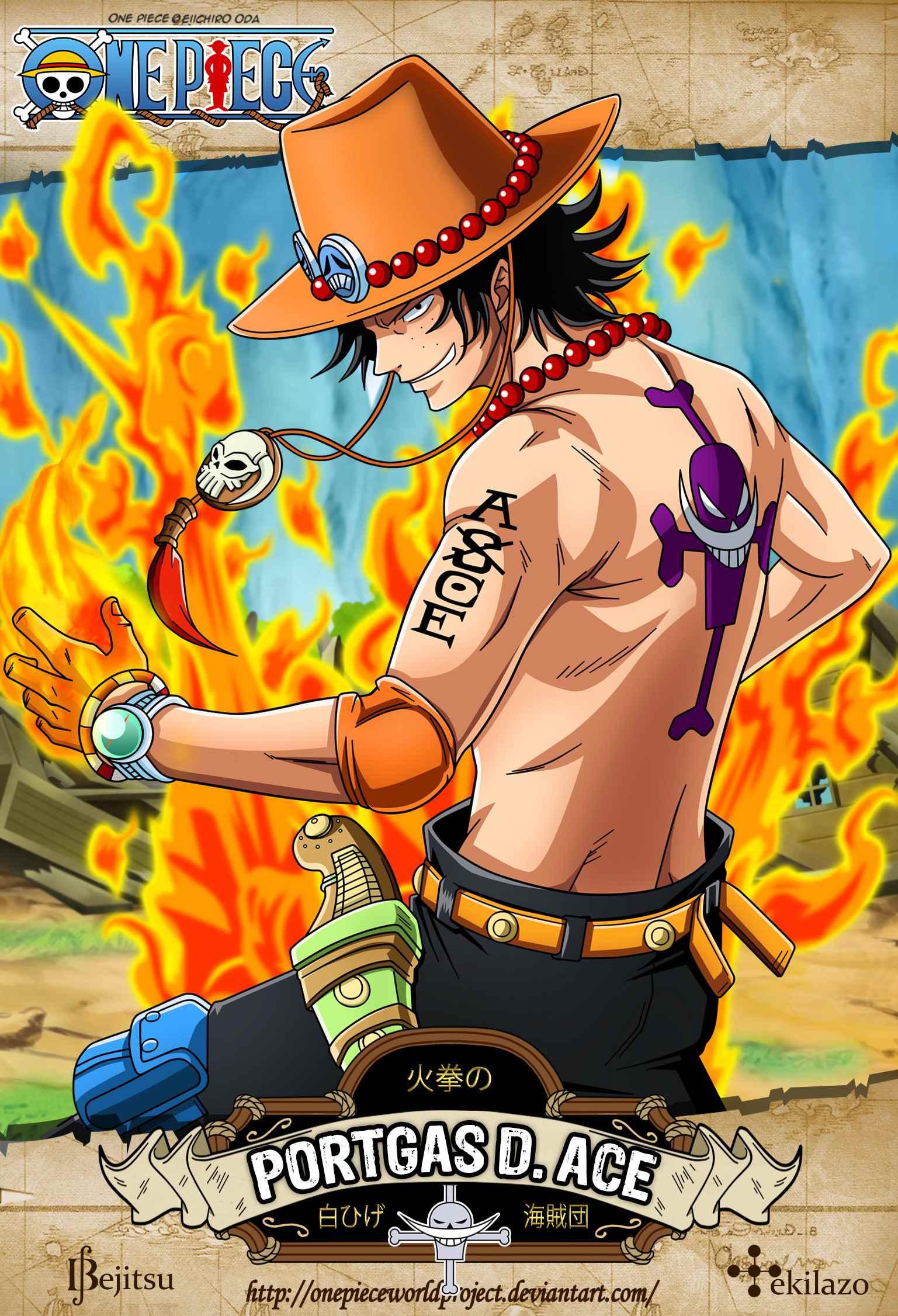 Красивая заставка Ван пис (One Piece) на телефон (12)