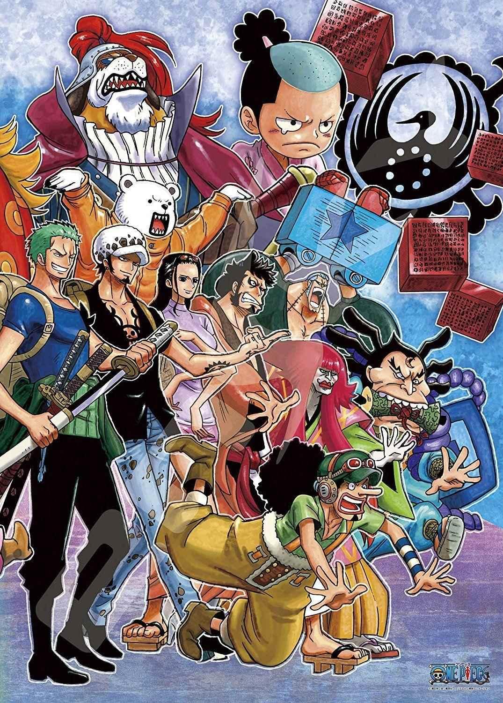 Красивая заставка Ван пис (One Piece) на телефон (13)