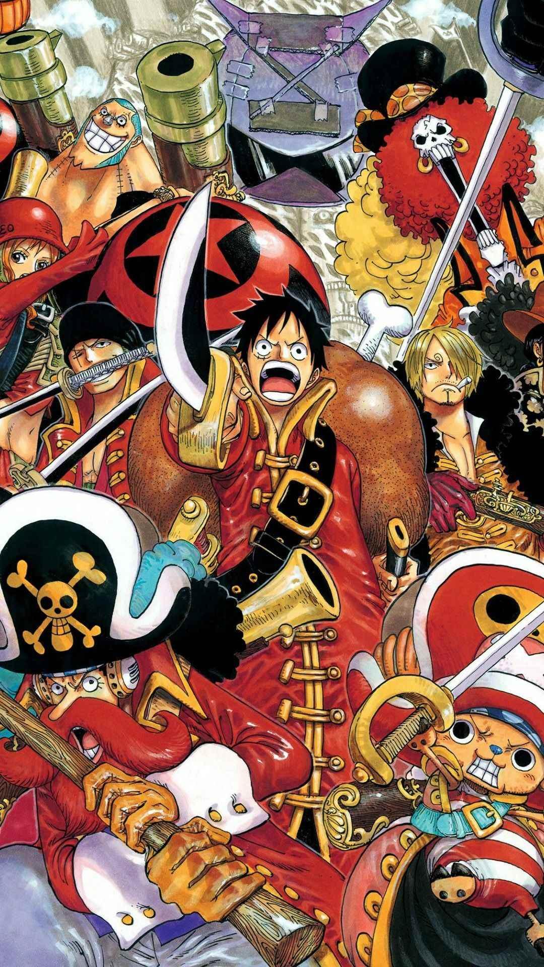 Красивая заставка Ван пис (One Piece) на телефон (14)