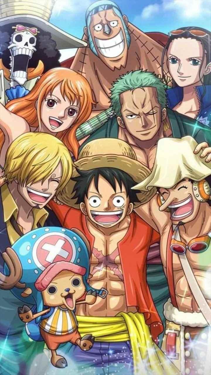 Красивая заставка Ван пис (One Piece) на телефон (17)