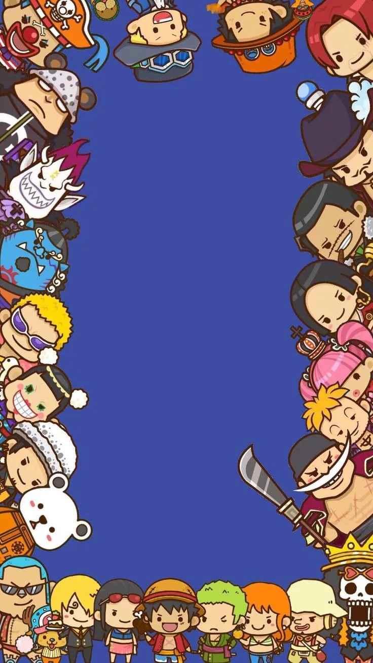 Красивая заставка Ван пис (One Piece) на телефон (19)
