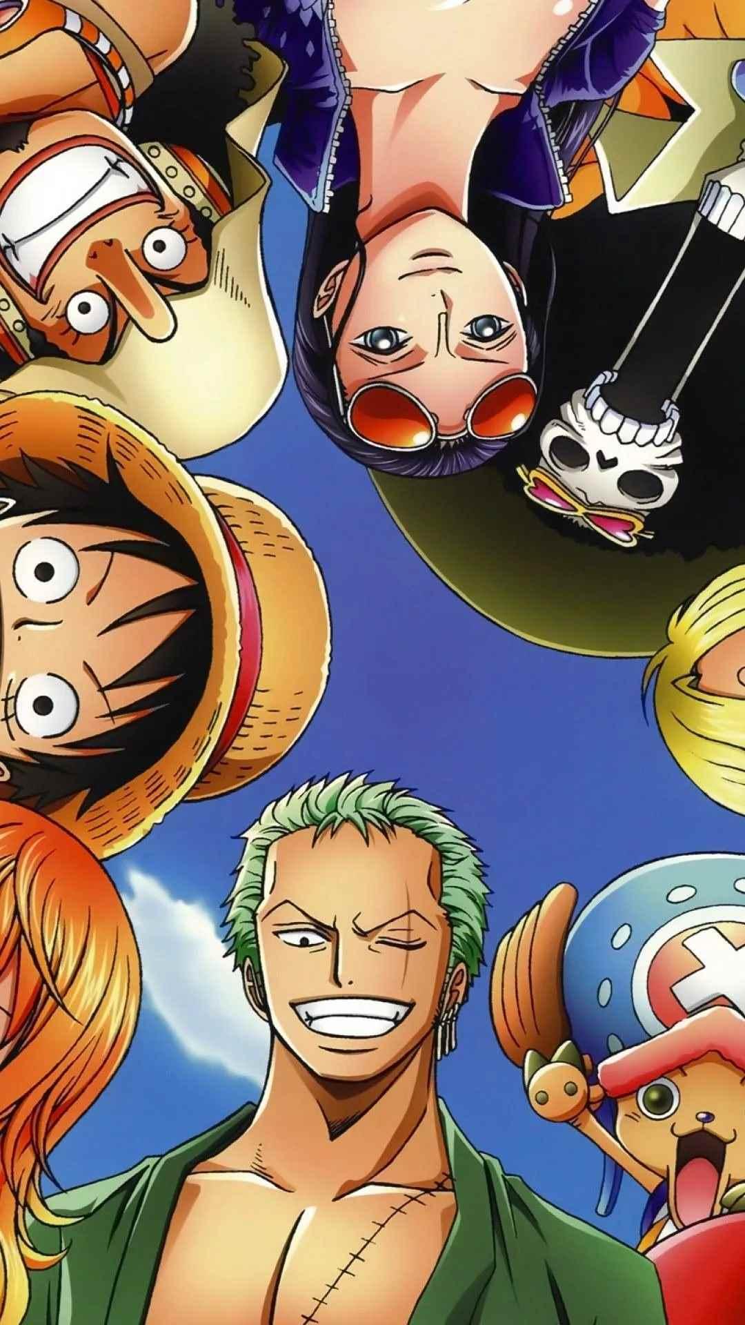 Красивая заставка Ван пис (One Piece) на телефон (22)