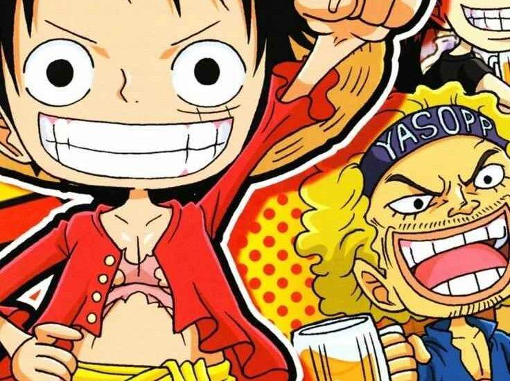 Красивая заставка Ван пис (One Piece) на телефон (24)