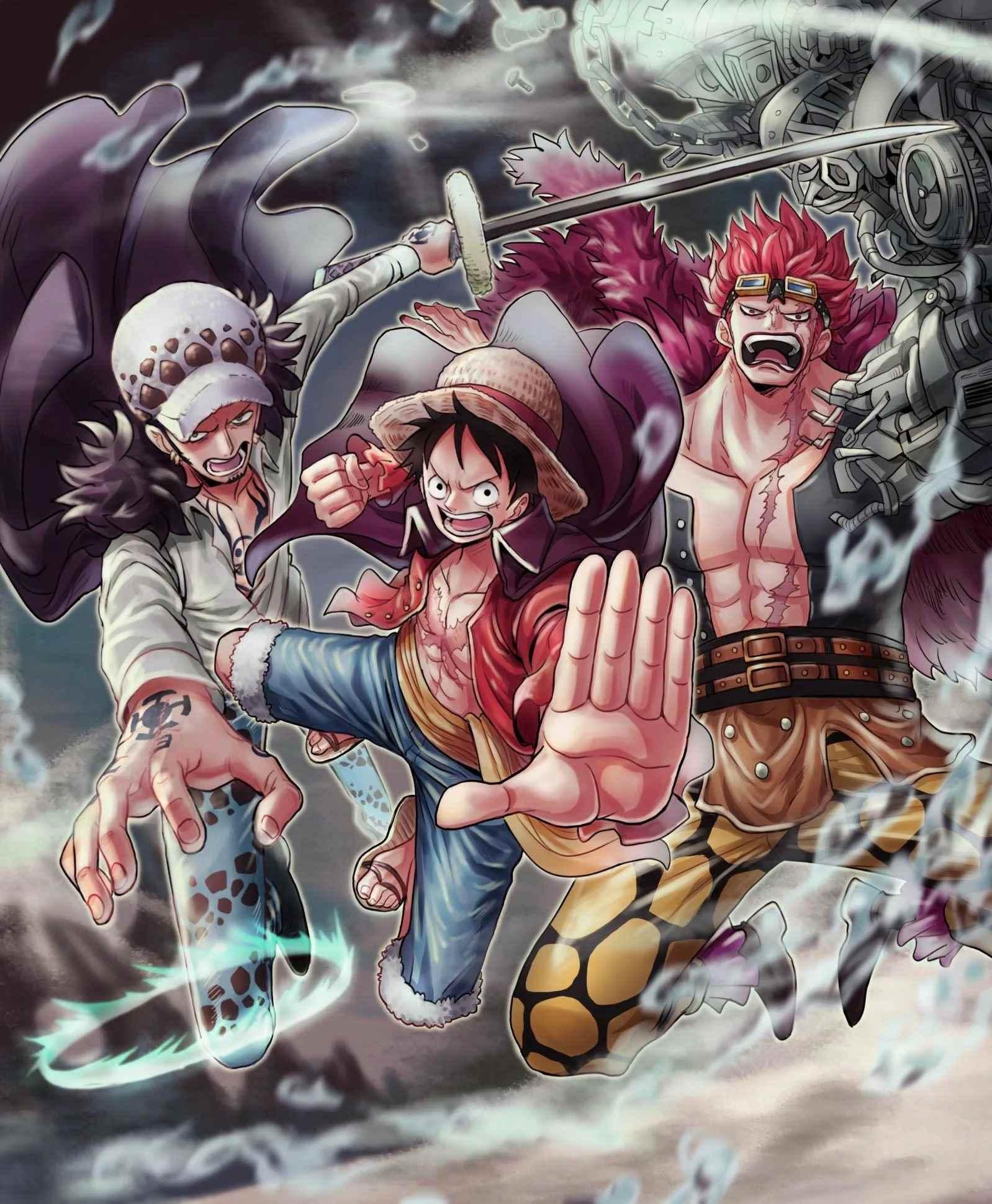 Красивая заставка Ван пис (One Piece) на телефон (27)
