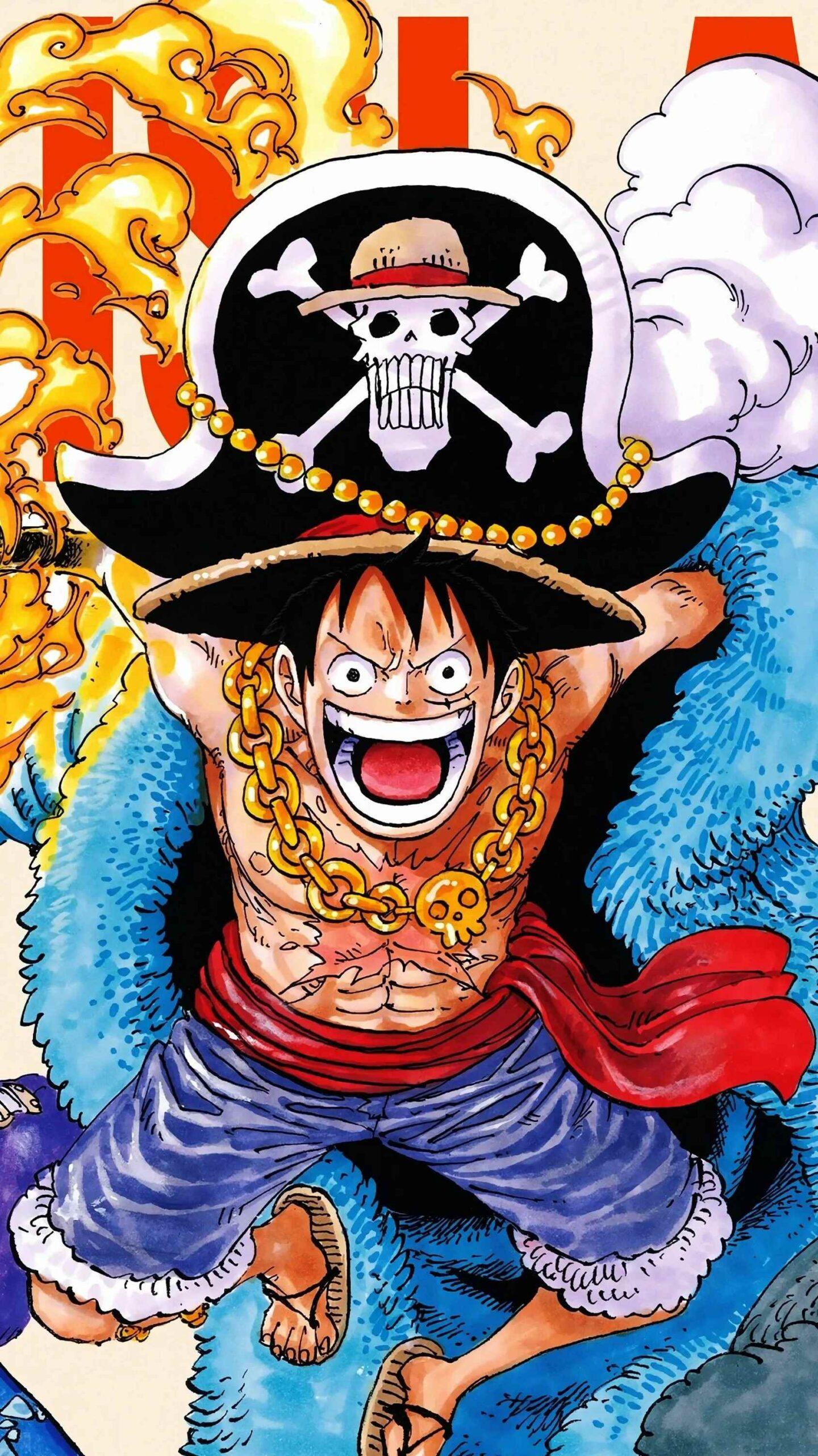 Красивая заставка Ван пис (One Piece) на телефон (29)