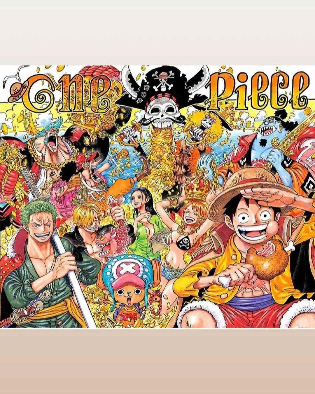 Красивая заставка Ван пис (One Piece) на телефон (3)