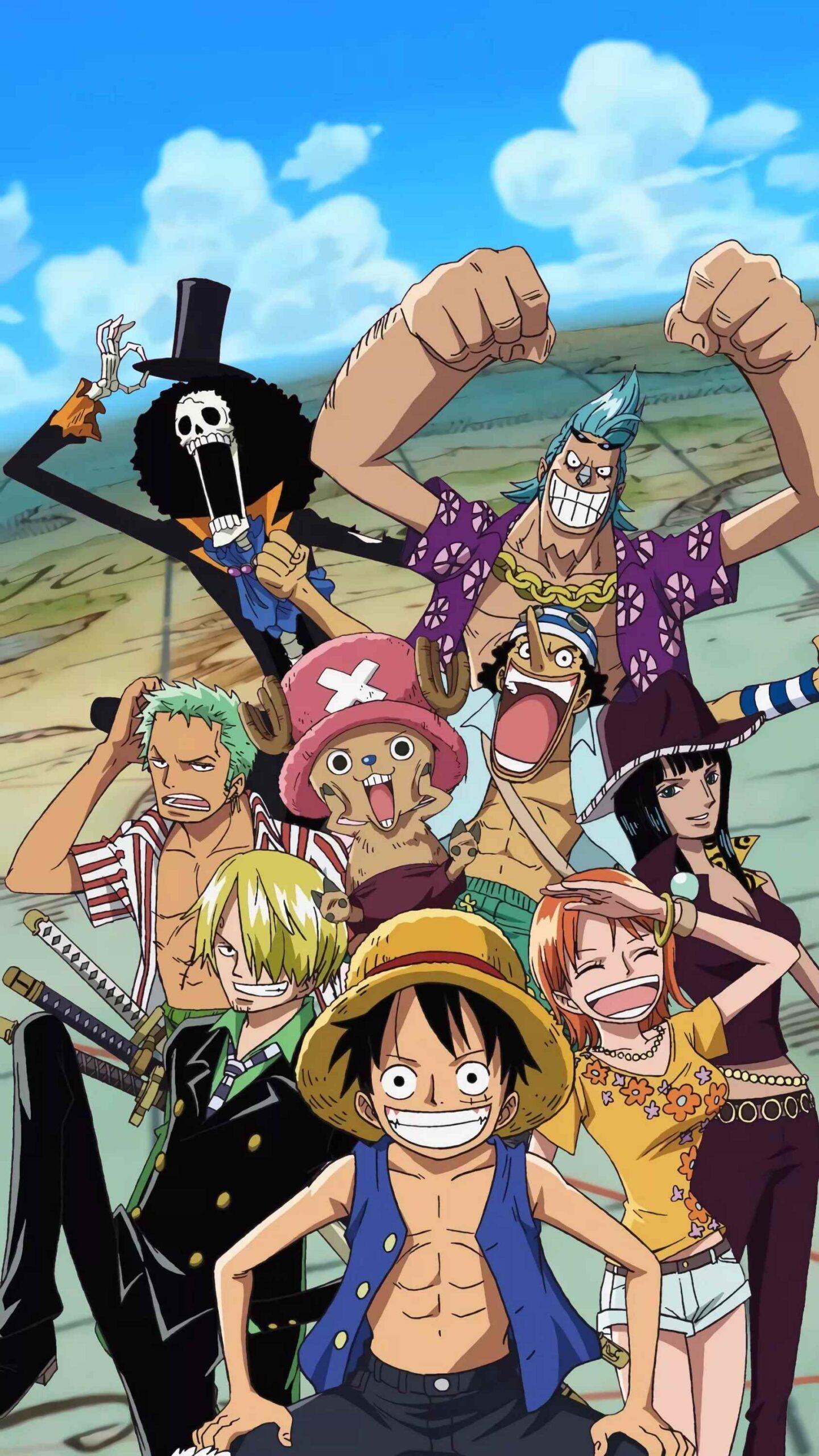 Красивая заставка Ван пис (One Piece) на телефон (5)