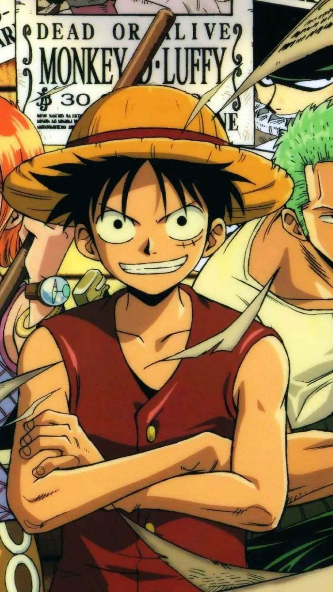 Красивая заставка Ван пис (One Piece) на телефон (7)