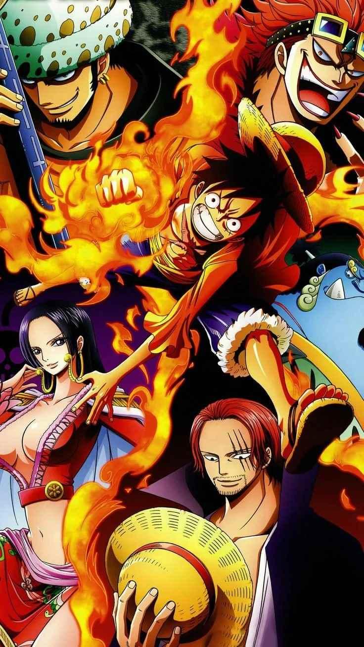 Красивая заставка Ван пис (One Piece) на телефон (8)
