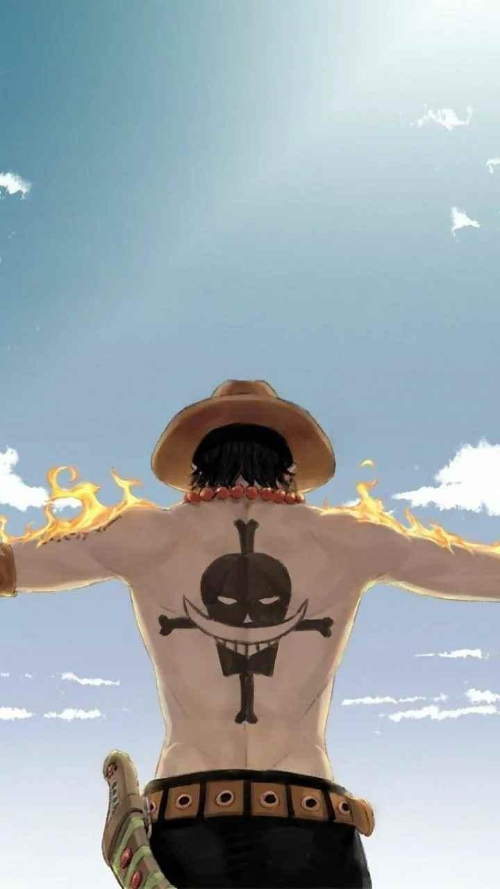 Красивая заставка Ван пис (One Piece) на телефон (9)