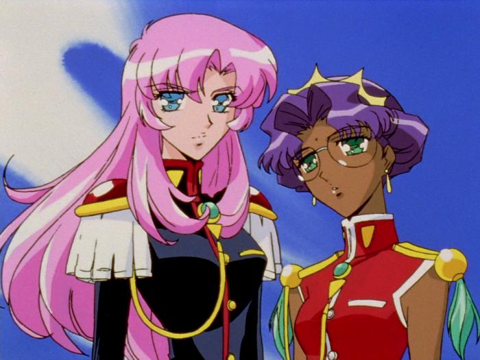 Юнаяреволюционерка Утэна, две девушки их аниме
