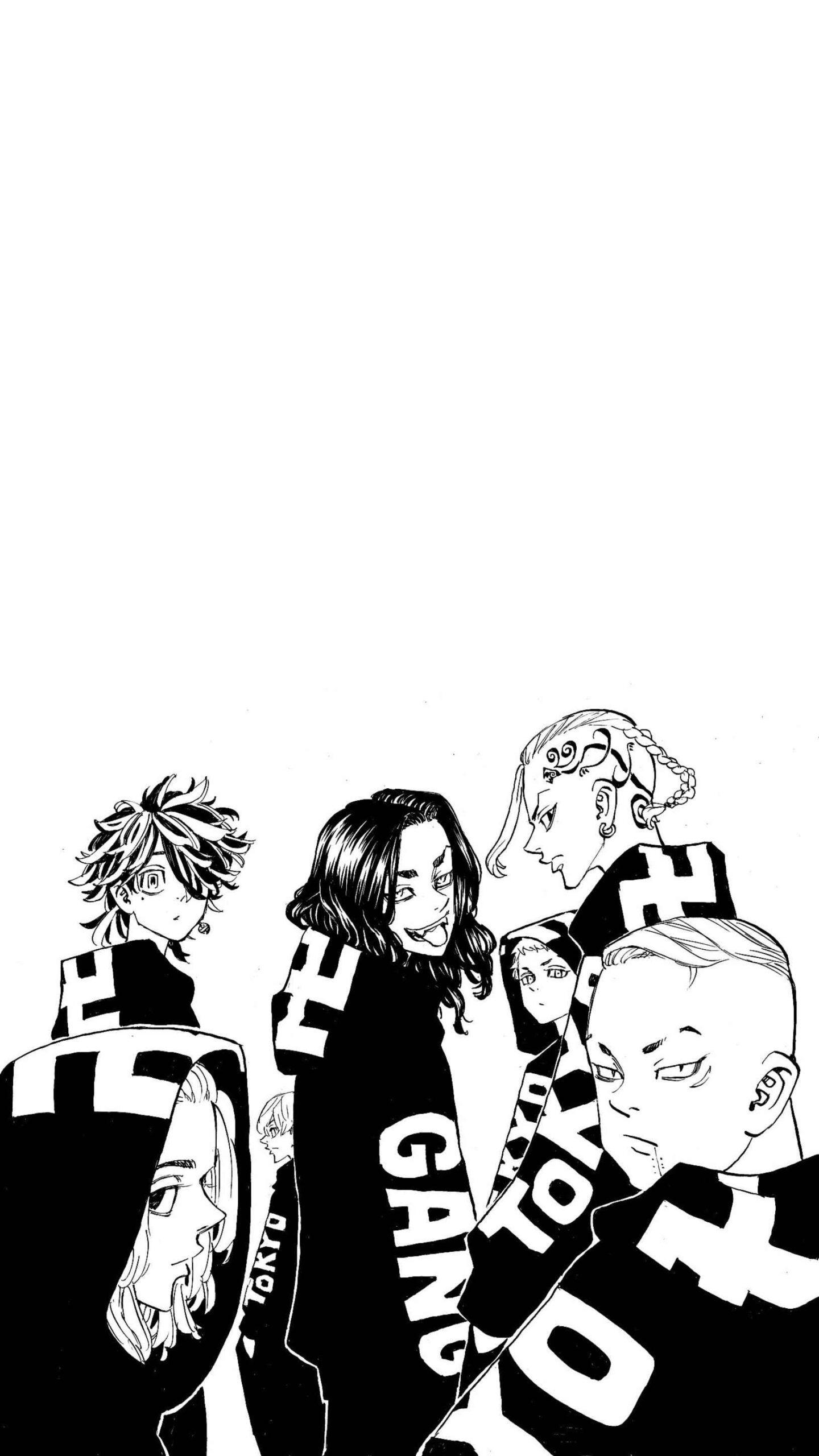 Заставка на телефон аниме Токийские мстители, обои (2)