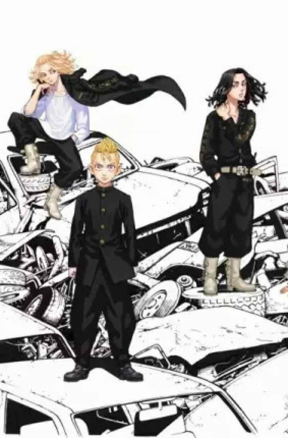 Заставка на телефон аниме Токийские мстители, обои (22)